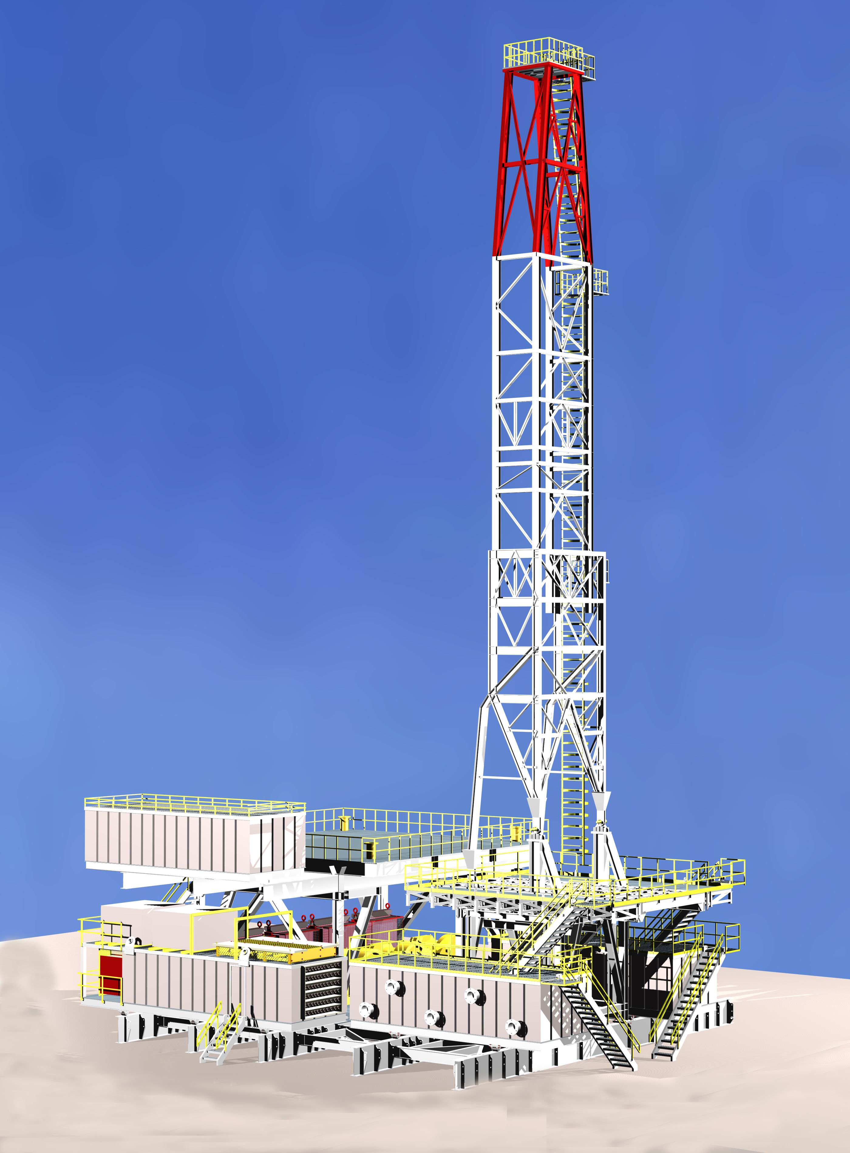 Many years of experiences and dedications are put on these rigs. All Oderco  land rigs and equipments comply with the API-4F, API-7k, API-8c, ...